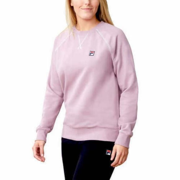 3bdd2039 FILA Sweaters | Ladies Heritage French Terry Crew Neck Sweat | Poshmark